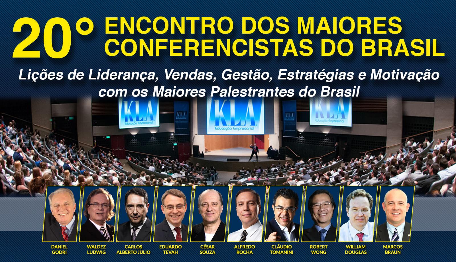 20º Encontro Dos Maiores Conferencistas Do Brasil